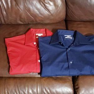 Merona Slim Fit Dress Shirts